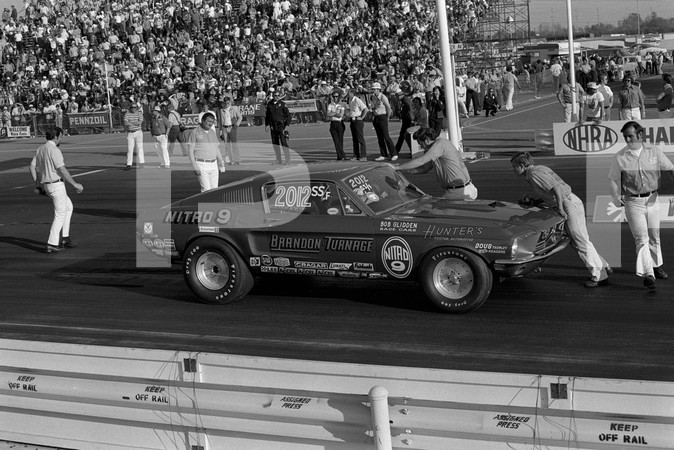 1974 NHRA 14th Annual Winternationals - Los Angeles County Raceway Pomona
