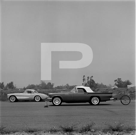 T-Bird & Corvette