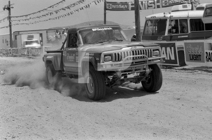 1987 The Mint Hotel Las Vegas Mint 400 - Final Year Under Hotel Sponsorship